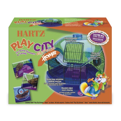 Hartz Play City Extreme Home Hamster and Gerbil Small Animal Cage 51TeYGL46oL