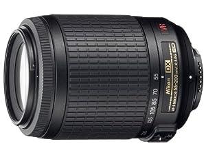Nikon 55-200mm f/4-5.6G ED IF Auto Focus-S DX VR [Vibration Reduction] Nikkor Zoom Lens