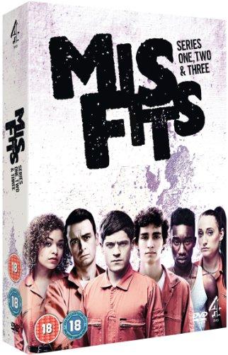 Misfits - Series 1-3 [DVD] [Edizione: Regno Unito]