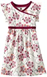 Tea Collection Girls 2-6X Joburg Wrap-Neck Dress