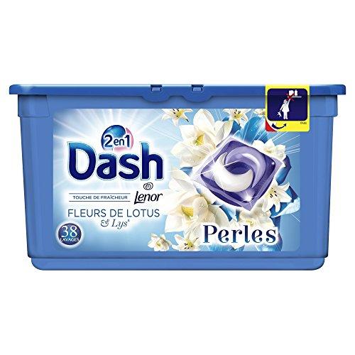 Dash 2In1perline Bucato In Capsule fiori di loto & Lys 38lavaggi