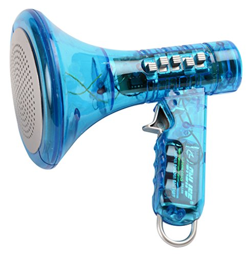 Kangaroo's Multi Voice Changer (6.5-Inch, Colors Vary; Blue, Green, Red, Yellow or Orange) (Megaphone Kids compare prices)