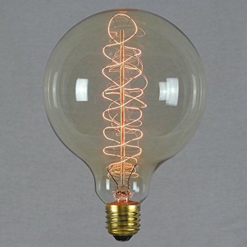 Vintage Edison Globe Light Bulb 60w Giant Spiral Globe