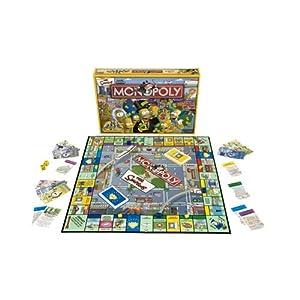 Hasbro - 400461010 - Monopoly - Jeu de Société - Grand Classique - Monopoly Simpson