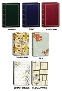 """Pioneer Classic 3 Ring Photo Album with Assorted Colored and Designs Covers, Holds 504 4x6"""" Photos, 3 Per Page"""