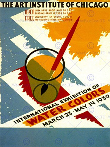 art-water-colors-international-chicago-institute-usa-vintage-poster-print-12x16-inch-30x40cm-847py
