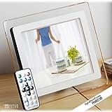 【Amazonの商品情報へ】8インチワイドTFT液晶 高解像度 高画質 デジタルフォトフレーム 動画再生もOK【在庫有】