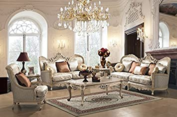 Homey Design - Hd-91 Sofa Set (Includes Sofa & Loveseat)