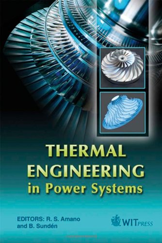 Thermal Engineering in Power Systems (Developments in Heat Transfer)