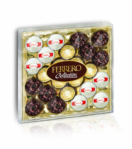 Ferrero Collection Diamond Gift Box, 24 Piece