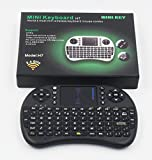 Smart&Cool ® Mini 2.4GHz Wireless Touchpad Mouse with Keyboard for PC, PAD, XBox 360, PS3, Google Android TV Box, HTPC, IPTV (Black)
