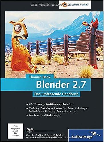 Blender 2.7: Das umfassende Handbuch