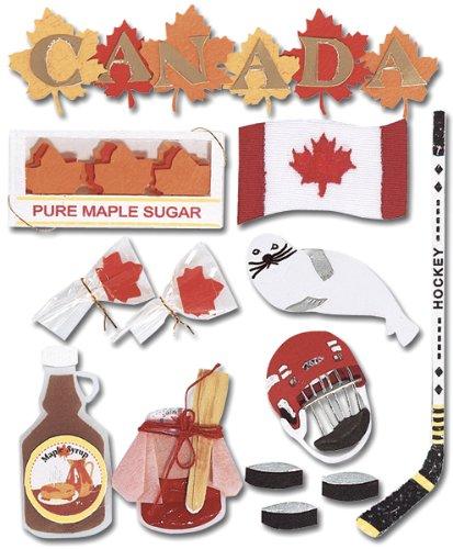 EK Success SPJE002 Jolee's Boutique Canada Destination Sticker