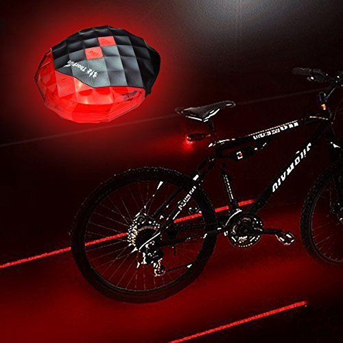 ThorFire Bike Taillight with 2 Laser 5 LED