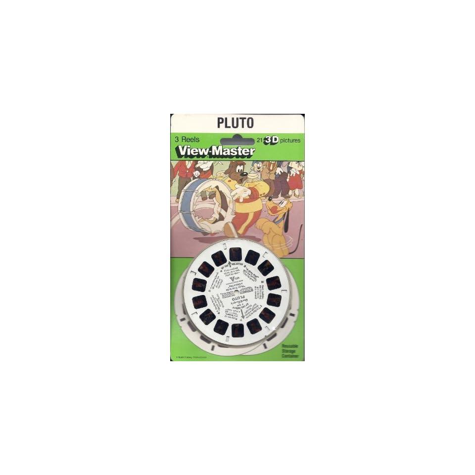 Walt Disneys Pluto 3d View Master 3 Reel Set Toys & Games