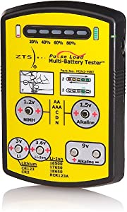 ZTS MINI-MBT - Mini Multi-Battery Tester - For More Than 15 Battery Types