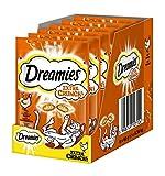 Dreamies Katzensnack Extra Crunch mit Huhn, 6er Pack (6 x 60 g) -