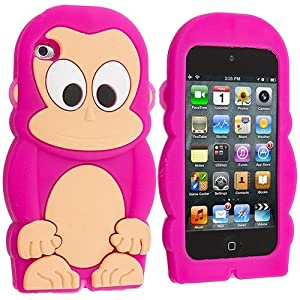 Amazon.com: Cell Accessories For Less (TM) Hot Pink Monkey Silicone