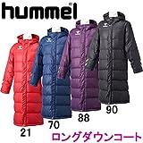(ヒュンメル)hummel ロングダウンコート HAW8062 90 ブラック L-O
