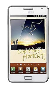 Samsung Galaxy Note GT-N7000 Unlocked Cellphone--International Version(Ceramic White)