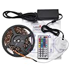 LEDwholesalers 16.4ft RGB Color Changing Kit with LED Flexible Strip
