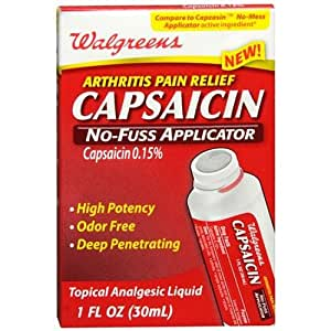 Capsaicin cream reviews