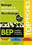 Biologie, nutrition & alimentation, m...