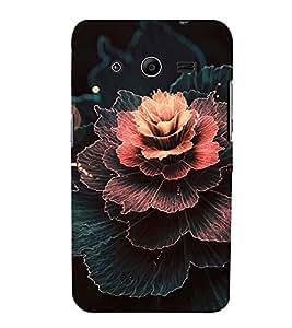 EPICCASE Gothic rose Mobile Back Case Cover For Samsung Galaxy Core 2 (Designer Case)