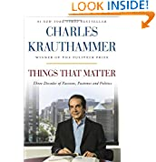 Charles Krauthammer (Author)   61 days in the top 100  (749)  Buy new:  $28.00  $16.80  71 used & new from $14.60