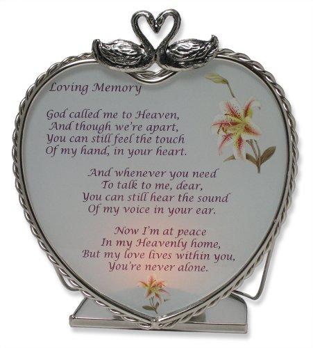 Loving Memory Bereavement Memory Candle Holder