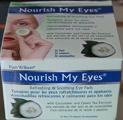 Fran Wilson Nourish My Eyes Cucumber Eye Pads by BEAUTY SOLUTIONS LTD