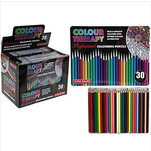 great-gift-30-professional-premium-colouring-pencils-artists-quality-colour-therapy-in-tin-arts-craf