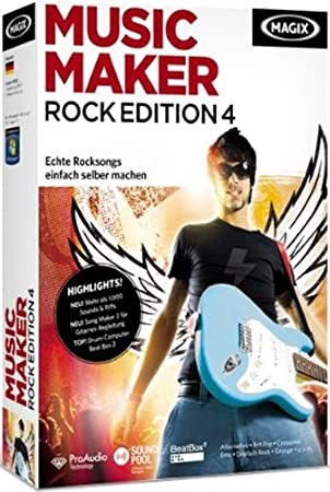 MAGIX Music Maker Rock Edition 4