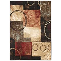Hot Sale Signature Design by Ashley Contemporary Manhattan Midnight (5'x8') Area Rugs