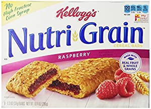 Kellogg's Nutri-Grain Nutri-Grain Cereal Bars - Raspberry - 1.3 oz - 8 ct