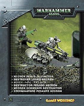 Games Workshop - 99140110018 - Warhammer 40.000 - Figurine - Destroyer Lourd Necron