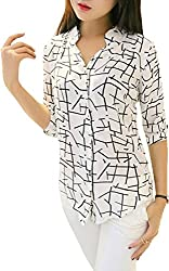 H K Sales women's printed shirt