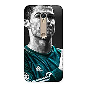 UNICOVERS Soccer Calm Star Back Case Cover for Motorola Moto X Style
