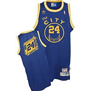 Adidas Golden State Warriors Rick Barry Soul Swingman Jersey by adidas