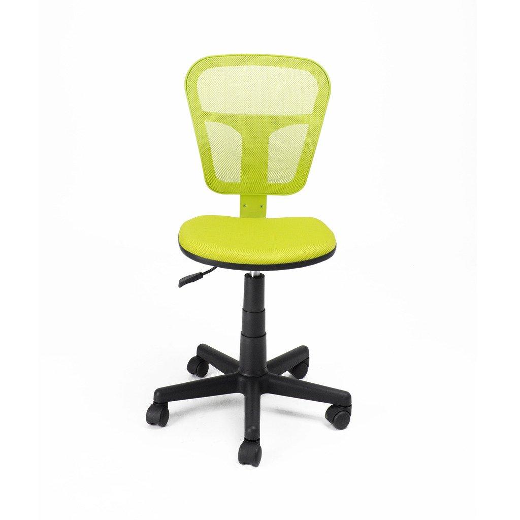 BlumeRebe® Grün Ergonomisch Bürostuhl kein Armlehnen mit Stoffpolster/Schreibtischstuhl für kinder   Kundenberichte und weitere Informationen