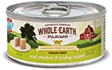 Whole Earth Farms Grain Free Real Chicken & Turkey Recipe (Paté)