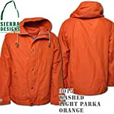Washed Light Parka 3015: Orange