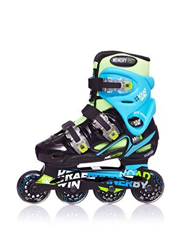 krafwin-road-runner-new-patines-en-linea-para-ninos-color-verde-azul-talla-33