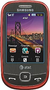 Samsung Flight a797 Phone, Red (AT&T)