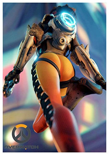 Poster Overwatch - Tracer A3 (42x30 cm) B