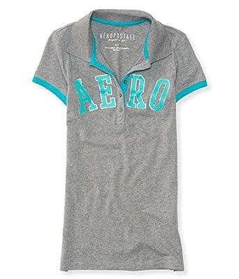 Aeropostale Womens Logo Polo Shirt At Amazon Women S