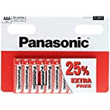Panasonic AAA (1.5v) Zinc Carbon Batteries  (also known as UM4, MN2400)