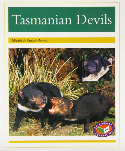 PM Non Fiction Animal Facts Level 22 Nocturnal Animals Mixed Pack X6 Gold: Tasmanian Devils PM Non Fiction Level 22 Gold: Animal Facts Nocturnal Animals (Pm Animal Facts)
