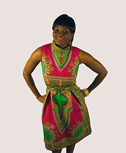Esty-Ankara-Midi-Sleeveless-Dress-With-Two-Pockets-Size-XSS-M-L-XL-XXL