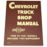 1948 1949 1950 1951 1952 1953 Chevy Truck Shop Manual